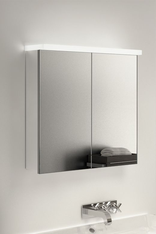 Gamma LED Light Plate Cabinet with Bluetooth and RGB under lights