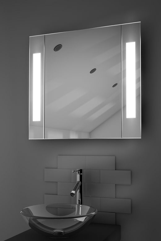 Gracious demister bathroom cabinet with Bluetooth audio