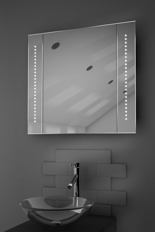 Astound LED bathroom cabinet with Bluetooth audio