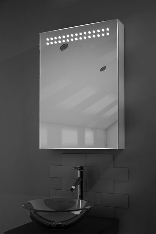 Vania LED bathroom cabinet with Bluetooth audio