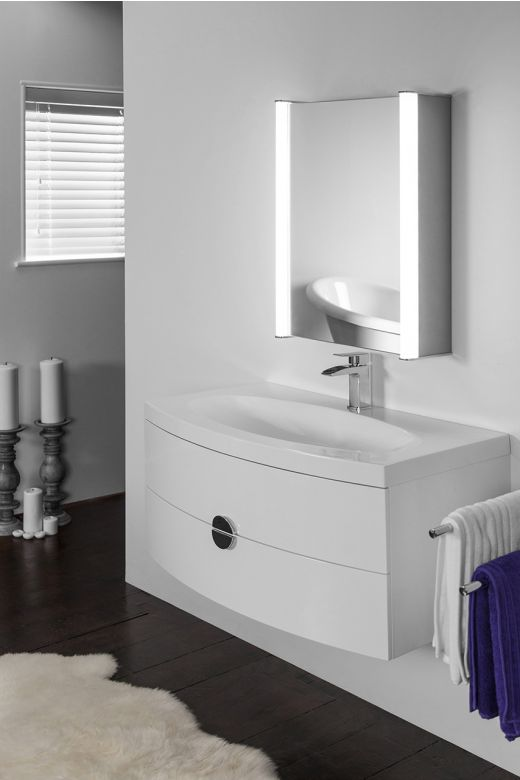 Aura 309 LED bathroom cabinet