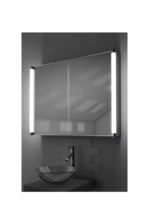 Dabir demister bathroom cabinet with Bluetooth audio