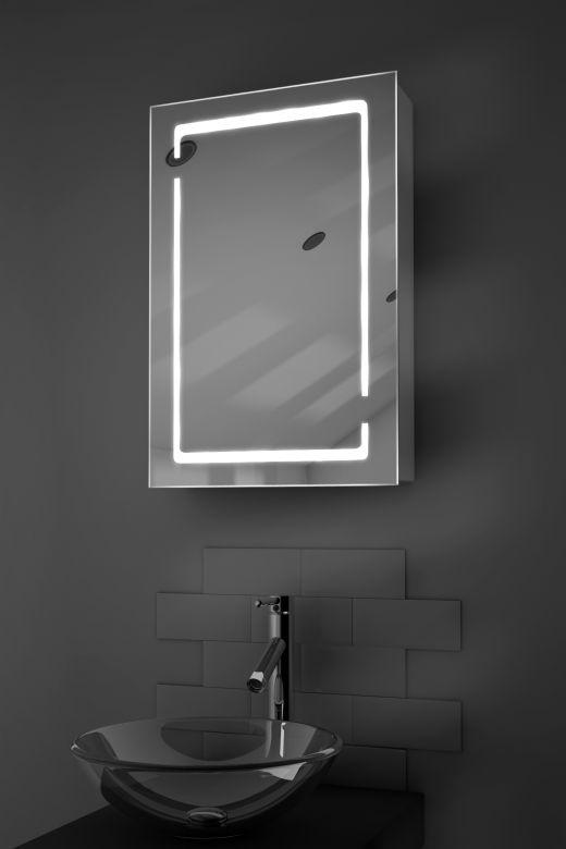 Filia demister bathroom cabinet with Bluetooth audio
