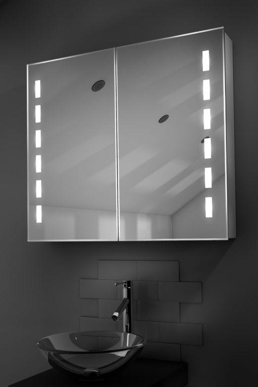 Cacia demister bathroom cabinet with Bluetooth audio
