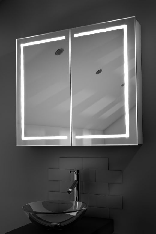 Deetra demister bathroom cabinet with Bluetooth audio