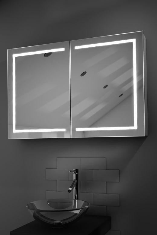 Lea demister bathroom cabinet with Bluetooth audio