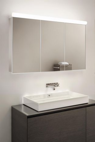 Prima Top Light Diffuser Cabinet with ambient under lighting