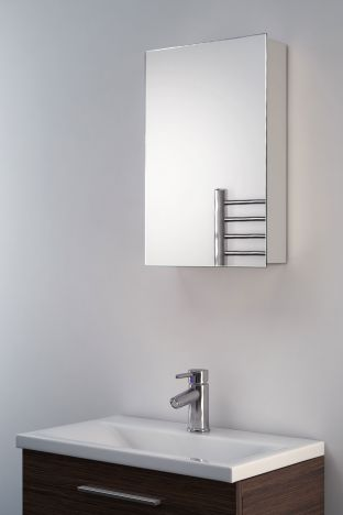 Alban mirrored bathroom cabinet mirror