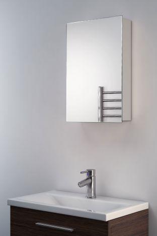 Alban mirrored bathroom cabinet mirror