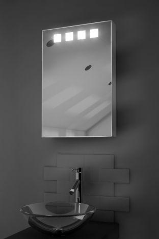 Nova LED bathroom cabinet with Bluetooth audio