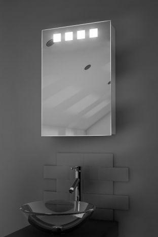 Nova demister bathroom cabinet with Bluetooth audio