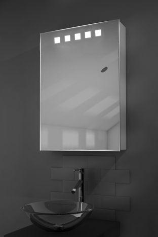 Deva LED bathroom cabinet with Bluetooth audio