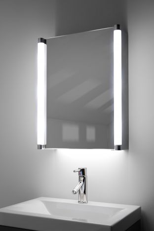 Aziza demister bathroom cabinet with ambient under lighting