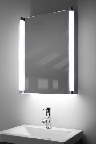 Bakari demister bathroom cabinet with ambient under lighting