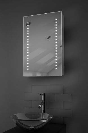 Achilles demister bathroom cabinet with Bluetooth audio