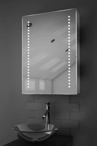 Ghita demister bathroom cabinet with Bluetooth audio