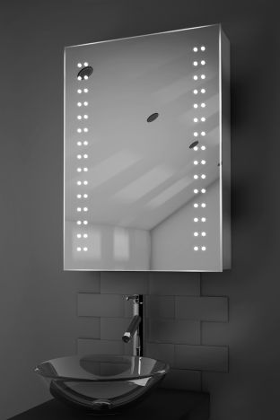 Halina demister bathroom cabinet with Bluetooth audio