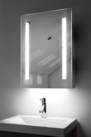 Jace demister bathroom cabinet with colour change under lighting