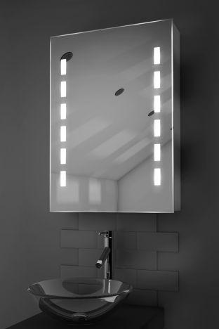 Kara demister bathroom cabinet with Bluetooth audio