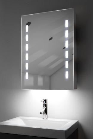 Kara demister bathroom cabinet with Bluetooth audio & ambient under lights