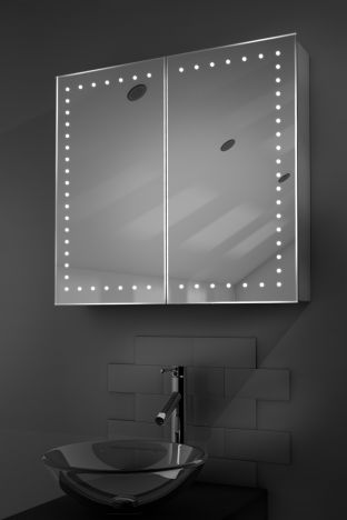 Panos demister bathroom cabinet with Bluetooth audio