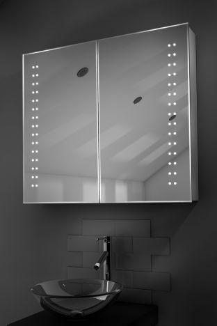 Yalena demister bathroom cabinet with Bluetooth audio