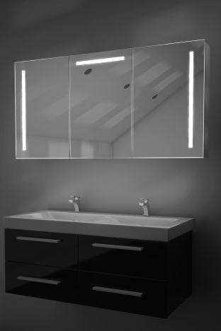 Cali demister bathroom cabinet with Bluetooth audio