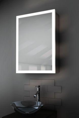 Amara Light Edged Bluetooth Demister Bathroom Cabinet
