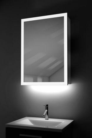 Amara Light Edged Bathroom Cabinet with Ambient under lights