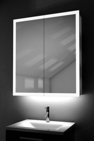 Varma Light Edged cabinet with ambient under lighting and Bluetooth audio