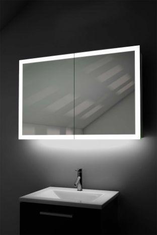 Xava Light Edged Cabinet with ambient underlighting